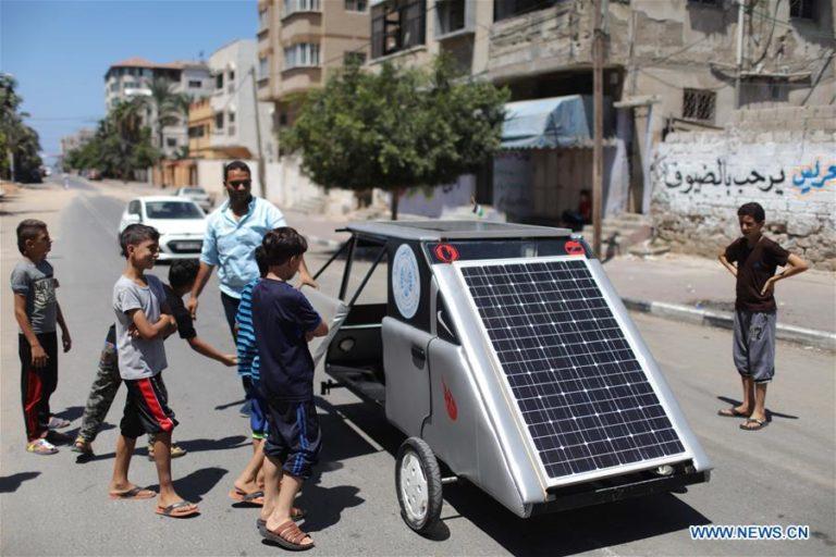 solar car gaza
